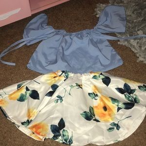 Other - Toddler shirt and skirt